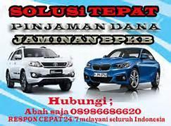 Foto: Pinjaman Uang Jaminan BPKB Mobil