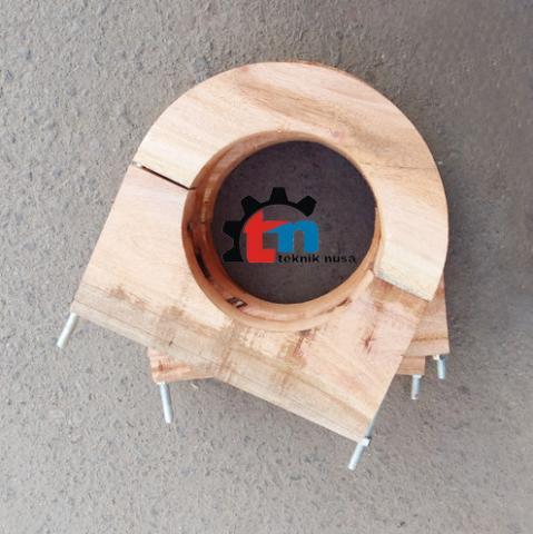Foto: Jual Wooden Block Pipa Chiller – Klem Kayu Pipa