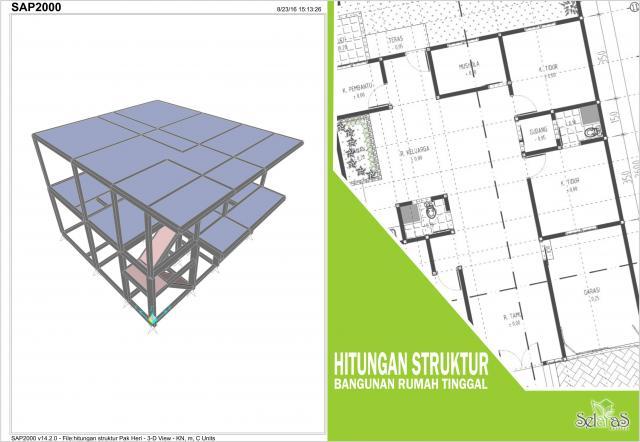 Foto: Jasa Hitungan Struktur Beton Baja Jogja Indonesia