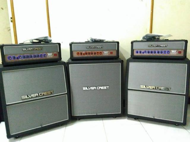 Foto: Amplifier Silver Crest Paket 1 Set ( Head Cabinet )