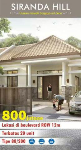 Foto: Rumah Murah Di Bukit Kencana Jaya Semarang