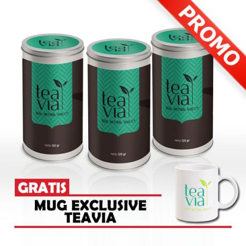 Foto: Teavia Teh Diet Alami Herbal