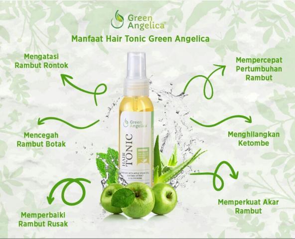 Foto: Penumbuh Rambut  Green Angelica Ampuh Menumbuhkan Rambiut Dengan Cepat