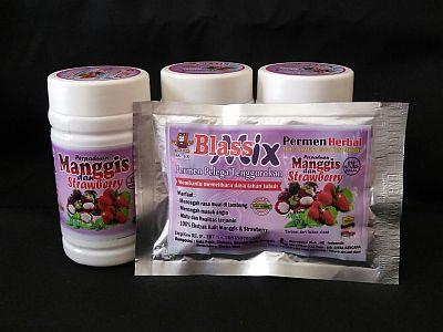Foto: Permen Herbal Manggis Dan Strawberry