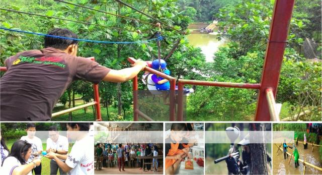 Foto: Rafting Arum Jeram & Paintball Cisadane Bogor