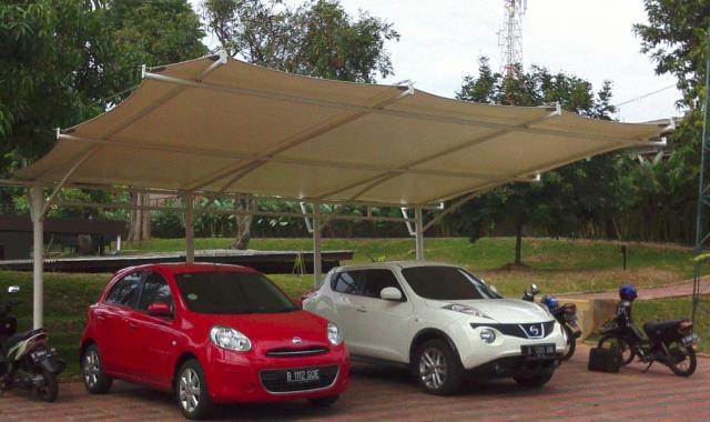Foto: Jasa Kontruksi Tenda Membrane Canopy Jakarta