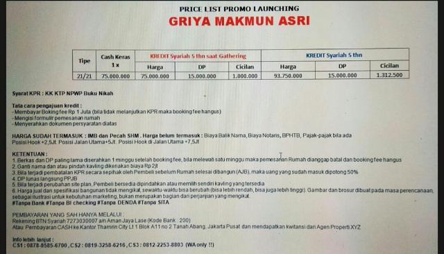 Foto: KPR Syariah Murah Rumah Petak Di Bogor