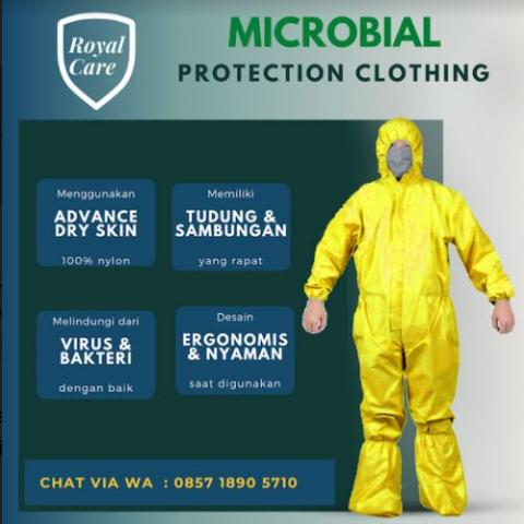 Foto: Royalcare.id – Apd, Hazmat, Coverall Dari Bahan Anti Air