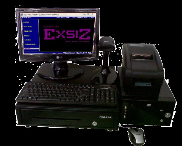 Foto: Komputer Dan Software Kasir