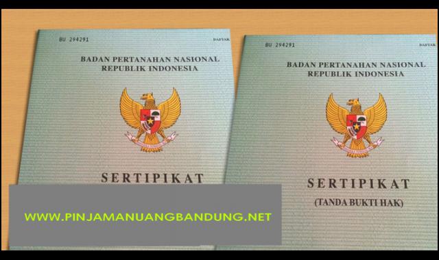 Foto: Gadai Sertifikat Rumah di Bandung