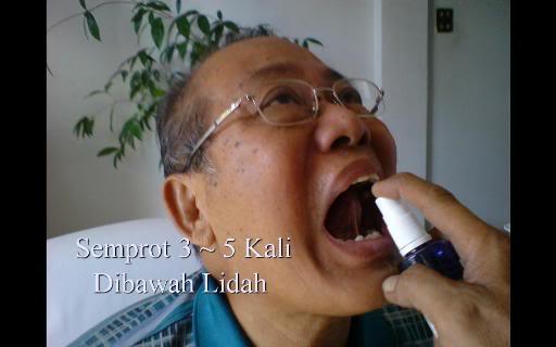 Foto: Diabet Sembuh Berkat Biospray, Terapi Biospray, Pengobatan Alternatif